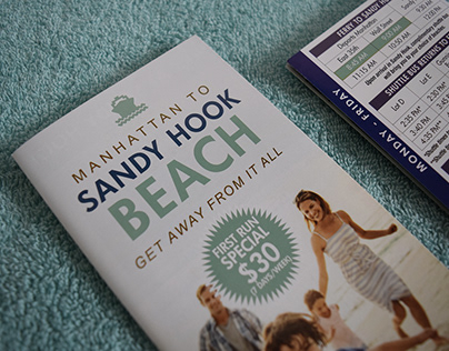 Sandy Hook Beach Brochure