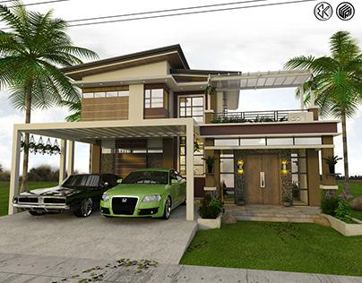 2 Storey Residential - Banna Ilocos Norte