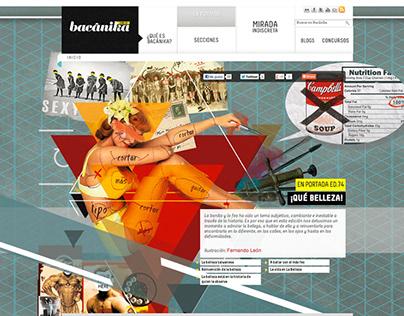 Portada Revista Bacánika 74