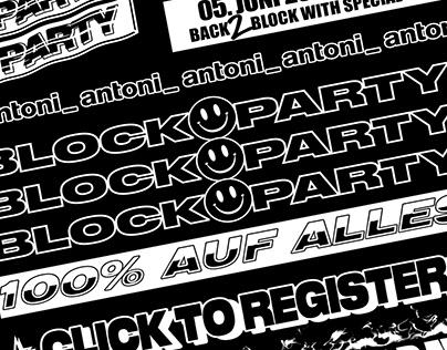antoni_ BLOCK PARTY 2.0