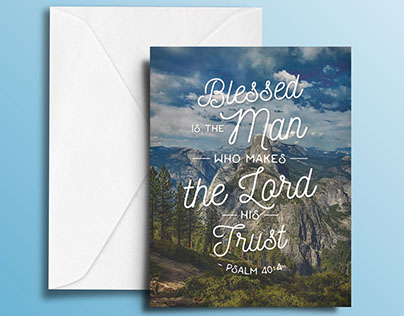 Bible Quote Greeting Cards