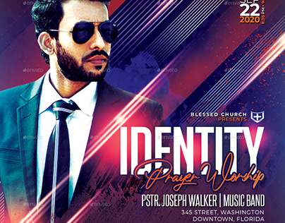Identity Church Flyer/Poster