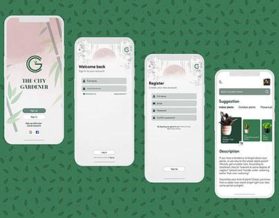 Plants e-commerce Mobile App UI Concept design