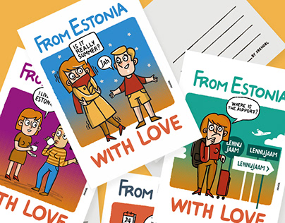 From Estonia with love, 10 postcards
