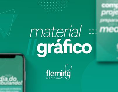 Fleming Medicina | Material Gráfico