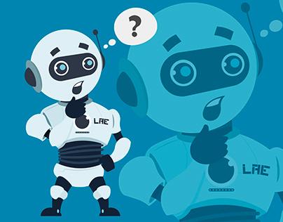 Robot having doubt