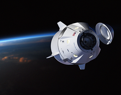 SpaceX Crew Dragon (4K Wallpaper FREE)