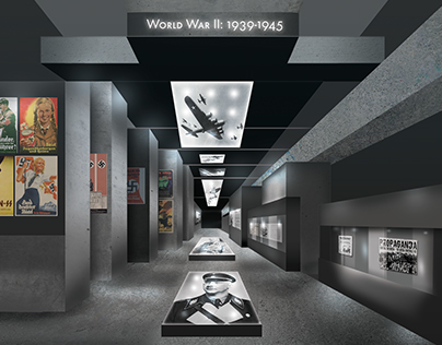 Madness Becomes Method - Exhibition Design