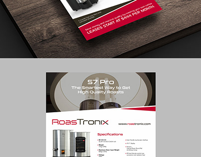 Flyer design idea for products