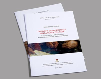 """Brochure - Locandine. Progetto """"Roma e il Mediterraneo"""""""