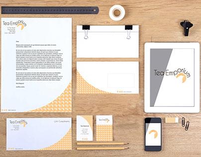 Tea Emporium: Branding & Promotional Material