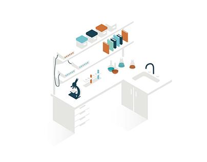 Cedars Sinai Technology Transfer — Illustration