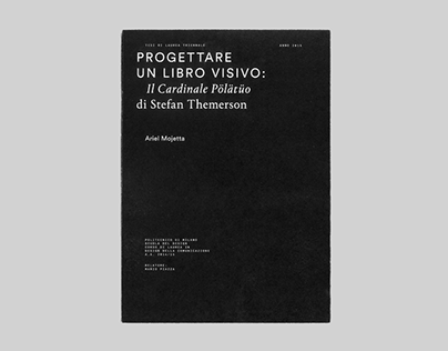 Progettare un Libro Visivo