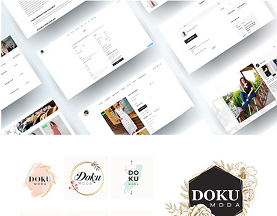 DOKUMODA.COM E-COMMERCE WEB SITE DESIGN 2019