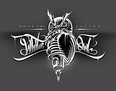 White Owl Tatoo - LOGO