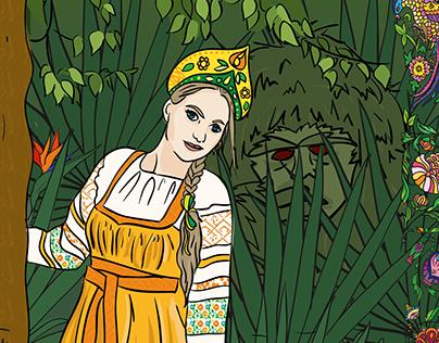 Russian Fairy Tail / Scarlet Flower