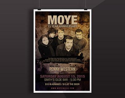 Poster - Moye (15th Anniversary)