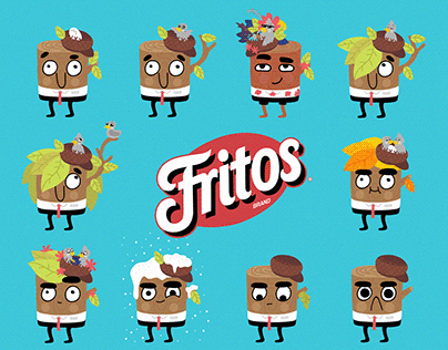 Pepsico Mex - character design