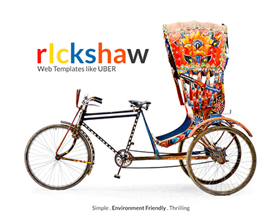 Rickshaw Web Templates like UBER