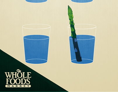 Design Course | Asparagus Water from Whole Foods
