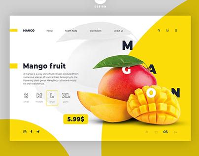 Banner design for Fruits Shop