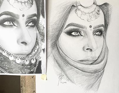 Pencil, Ink, Watercolour Artworks