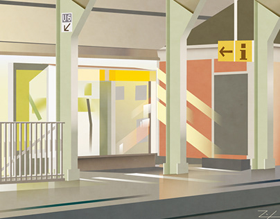 Personal illustrations (Daily in Berlin)