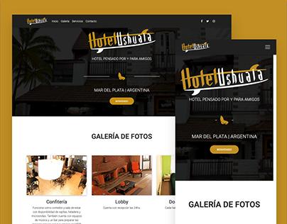 Hotel Ushuaia - Sitio Web