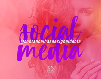 Social Media Sobrancelhas Design Aldeota
