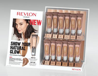 Revlon Retail Displays: Design & Mechanical Production