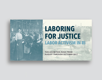 """Laboring for Justice"" State Archives Exhibition"