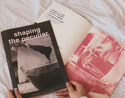 Shaping the Peculiar - Zine Publication