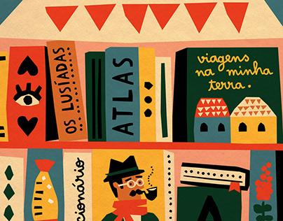 Editorial illustration · Madeira Guide