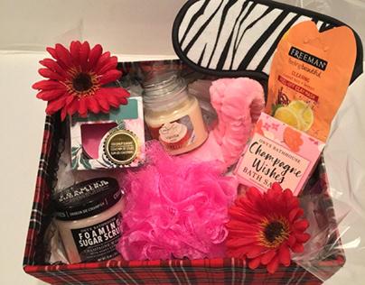 gift basket body scrub