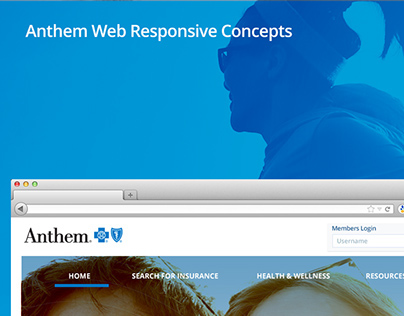 Anthem Web Responsive Concepts