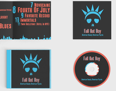 Fall Out Boy Album Redesign