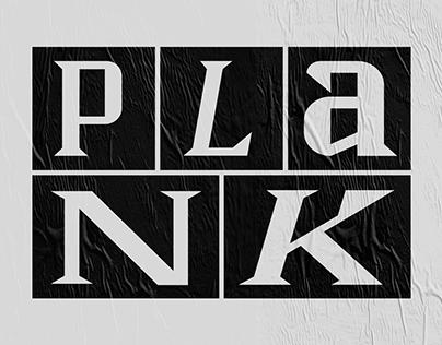 Plank Typeface