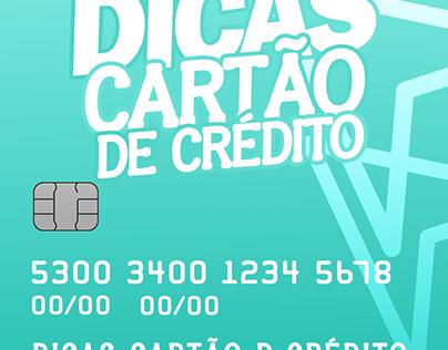 DICAS CARTÃO de CRÉDITO