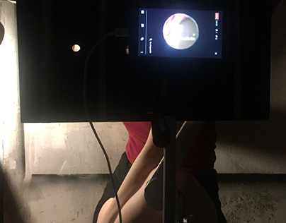 "Digital Performance: ""The Hole"", Ebru Sargın L., 2019"