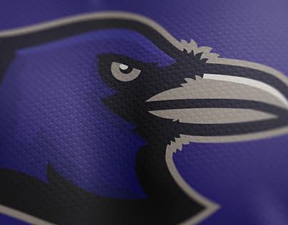 Ravens Mascot Logo