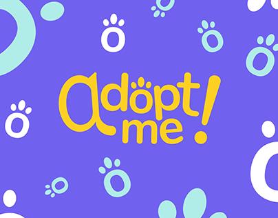 Adopt me - Logotipo