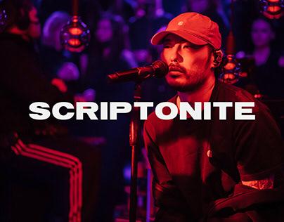 Scriptonite- Website Design Concept