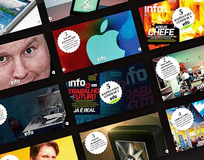 Webdesign for Info Magazine - Editora Abril