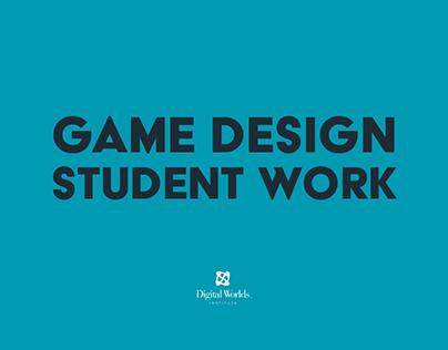 Game Design Student Work