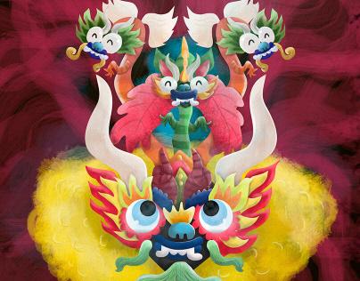 Candelaria (mascara de la diablada)