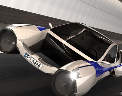 Futuristic Vehicle Contest on Blenderguru