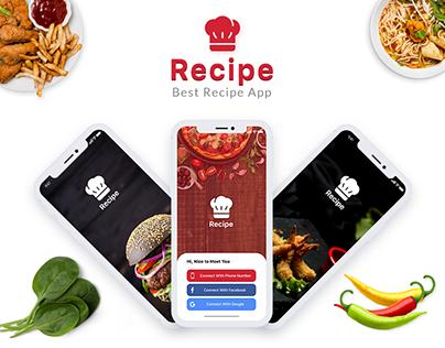 Recipe - Best Recipe App for Restaurant
