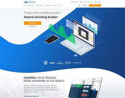 UX UI Home Page Design