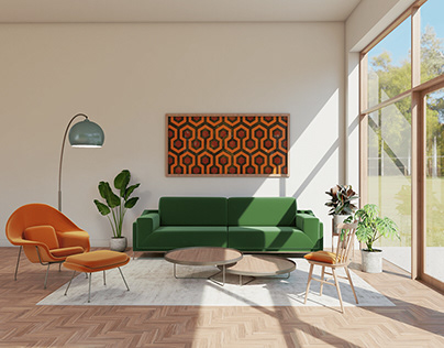 The Shining living room