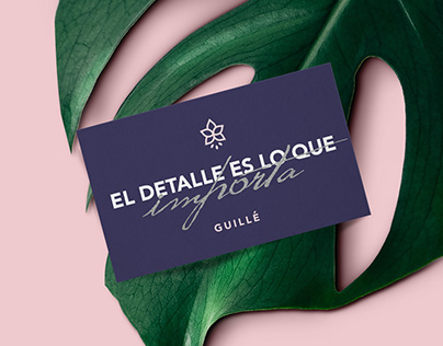 Branding for: Casa Floral Guillé